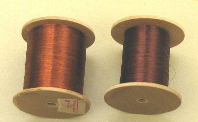 Самодельные катушки для обмоточного провода.