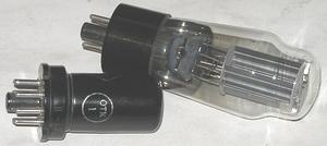 Испытание электронных ламп.