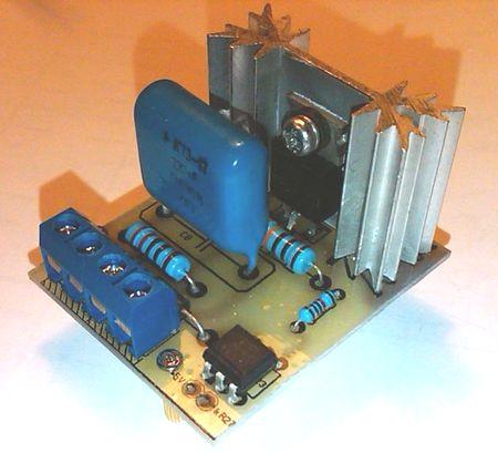 Плата управления нагревателем термофена