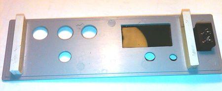 Передняя панель, вид внутри