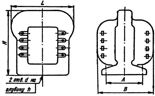 трансформаторов типа ТН с