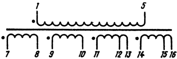 Схема трансформатора тн 61