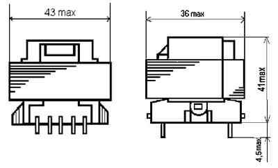 Габаритные размеры трансформаторов ТП-122
