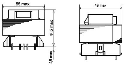 Габаритные размеры трансформаторов ТП-124