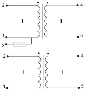 Электрические схемы трансформаторов ТП-129